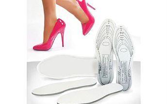 Tvarovatelné vložky do bot! Už žádná bolest z otlačených bot díky Memory Foam!