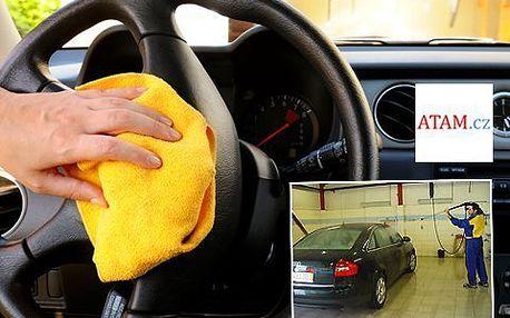 Komplexní vyčištění vozu! Nechte si po zimě kompletně vyčistit interiér i exteriér vašeho automobilu!