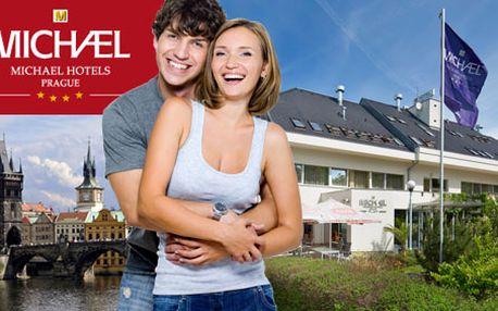 Užijte si 3 dny pro 2 v Hotelu Michael**** v Praze! Odpočiňte si v metropoli jen za 1990 Kč s HyperSlevou 43 % a nechte na sebe dýchnout staropražskou atmosféru!