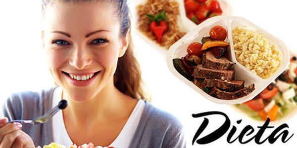 Krabičková dieta z čerstvých surovin – 3denní, celkem 15 nutričně vyvážených jídel