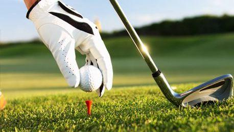 Golfová sada jen za 652 Kč! Sada 30ti míčků a 40ti dřevěných tess pro každého golfistu!