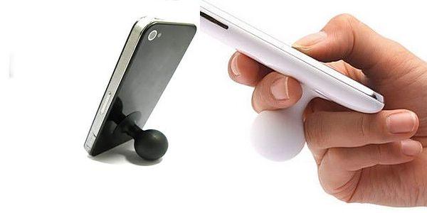 Revoluční držák ve tvaru přísavky umožní mít telefon v pozici pro sledování filmů nebo stabilizuje při psaní sms nyní s jedninečnou slevou 67%!