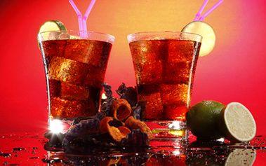 39 Kč za fantastický koktejl Cuba Libre dle originální receptury z pravého kubánského rumu Havana Club.