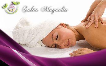 120 minutová relaxační masáž celého těla! Luxusní prostředí salonu Magnolia!
