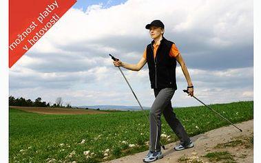 Nejlevněji v ČR, pár trekových holí za 199 Kč! Teleskopické hole s odpružením šetří vaše klouby a zajistí správné držení těla při sportu!
