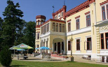 3denní wellness pobyt v romantickém Zámeckém resortu Mostov poblíž Františkových Lázní