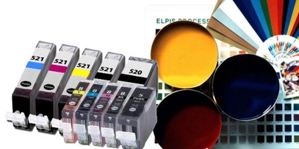Multipack 5 kusů kompatibilních náplní pro tiskárny Canon, PGI-520 a CLI-521 a PGI-5 a CLI-8! Jen za 237Kč! Při nákupu dvou a více sad Vám přibalíme silikonové hodinky jako dárek. Cena sady je včetně poštovného. Se slevou 50%!