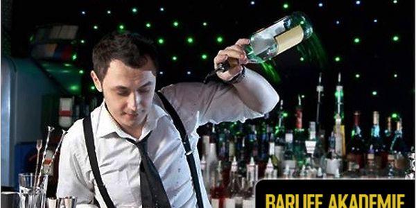 4hod barmanský zážitkový kurz sochutnávkou a nejlepšími profesionály za 1499 Kč. Neformální atmosféra a dárky v ceně 300 Kč.