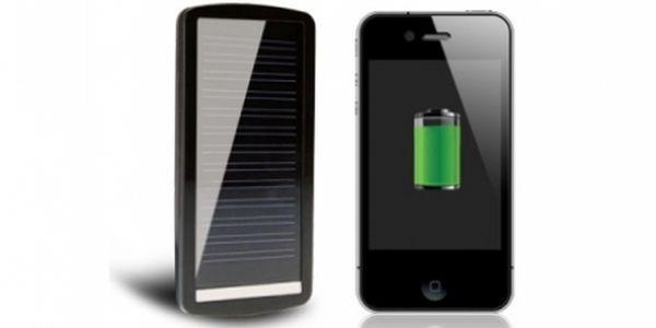 """SOLÁRNÍ NABÍJEČKA pro MOBILNÍ telefony či MP3 přehrávače s vlastní baterií! Již nikdy Vám baterie """"neumře"""", ať už budete kdekoliv!"""