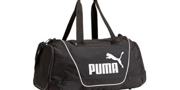Sportovní taška Puma za 429 Kč! Černá s objemem 47 litrů!