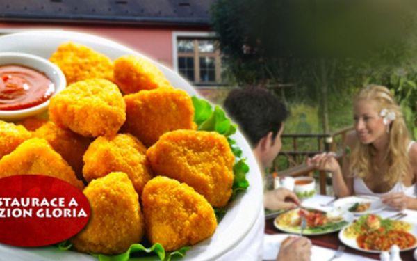 600g smažených ŘÍZEČKŮ + 250g šopského SALÁTU za lahodných 169 Kč! Nenechte si ujít slevu, na které si pochutnáte až ve 4 lidech. Příjemné posezení v zahradní restauraci se slevou 52%!