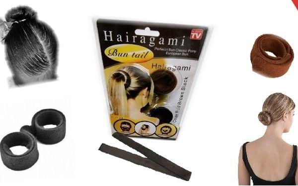 Sleva na skvělé Hairagami, stylové spirály do vlas...