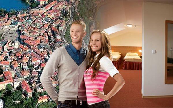 Pobyt pro dvě osoby na tři dny se snídaní ve stylovém hotelu Slávia v historické