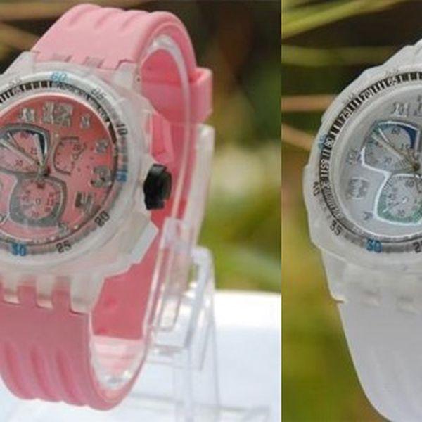 Moderní svítící QUARTZ hodinky, které mění 6 barev se silikonovým řemínkem - hit letošního léta je tu!