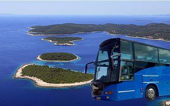 Obousměrná autobusová jízdenka do Chorvatska a zpět klimatizovanými autobusy!
