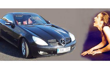 pronájem sportovního vozu Mercedes Benz SLK,