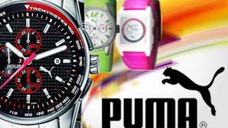 Značkové hodinky Puma – 17 druhů na sport i pro slavnostní příležitosti