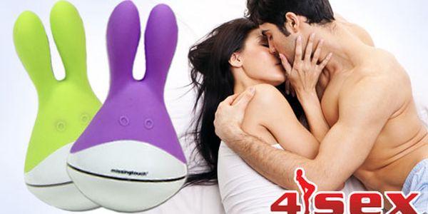 Diskrétní kamarád - vibrátor ve tvaru zajíčka jen za 499 Kč s HyperSlevou 52 % pro vaši slast! Dopřejte si rozkoš díky tomuto silikonovému vibrátoru!