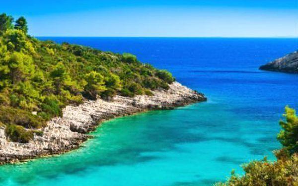 8 dnů v Chorvatsku s polopenzí! Užijte si dovolenou za super cenu, pláž je jen 200 metrů!