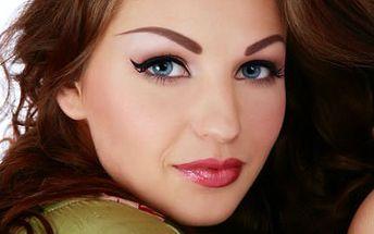 Permanentní make-up očních linek! Konec líčení na dlouhých 5 let. Velká sleva!