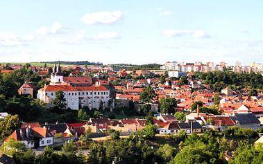 3denní pobyt pro DVA v Třebíči UNESCO! 4*hotel a vstup do bazénu i fitness zdarma!