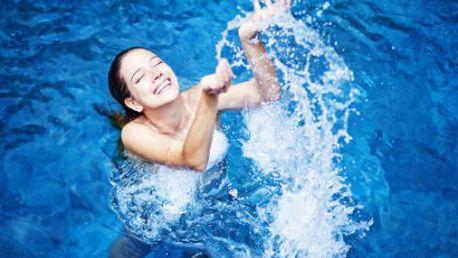 5 vstupů do krytého bazénu! Vyhřívaný s protiproudem zregeneruje a protáhne tělo!