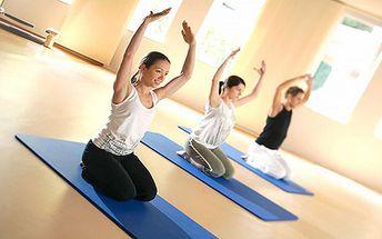2 lekce cvičení dle Vašeho výběru (aerobik, sportovní aerobik, cvičení na velkých míčích, trampolínky, pilates) za neuvěřitelných 120 Kč