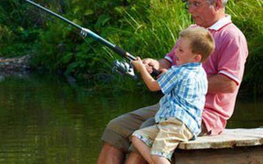 Sada RYBÁŘSKÝCH POTŘEB pro začátečníky v praktickém plastovém kufříku – VŠE pro pohodové rybaření!