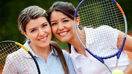 Permanentka na tenis! Zahrajte si tenis na profesionálním antukovém dvorci!