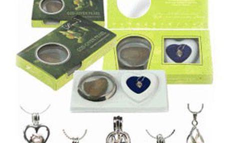 PERLA PŘÁNÍ – skutečná perla, PŘÍVĚSEK s řetízkem, DÁRKOVÉ balení a cena včetně poštovného! Splňte sobě nebo své drahé polovičce tajné přání