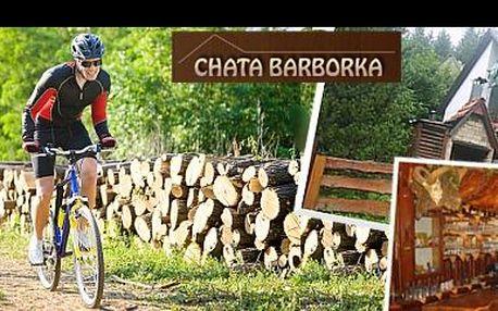 Prožijte aktivní dovolenou v samém srdci Beskyd na kolech, inline či pěšky, s ubytováním v rodinné chatě Barborka na 6 dní s POLOPENZÍ jen za 2 990 Kč.