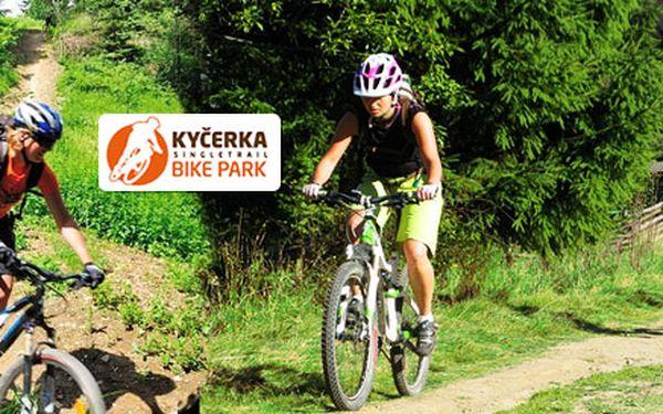 Celodenní vstup do Bike parku Kyčerka
