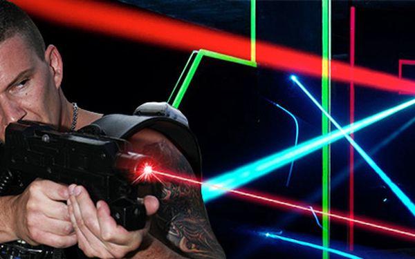 DVA vstupy na Laser Game