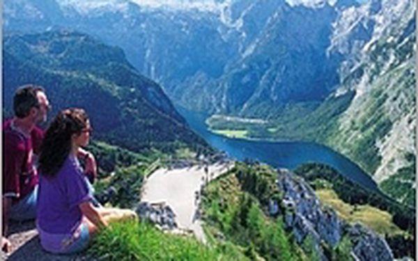 Panenská příroda německého národního parku Berchtesgaden s dominantou Orlím hnízdem a nejčistší jezero v Evropě!