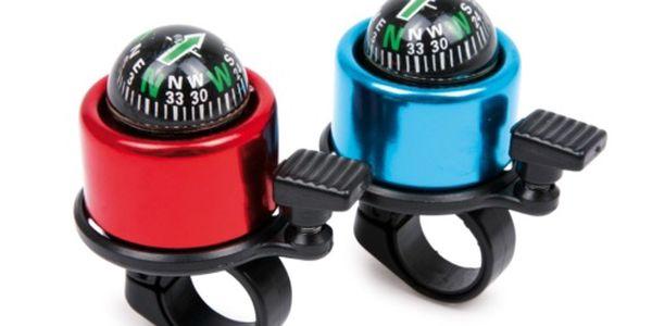 -76%! Bloudíte na kole?! Tak právě pro Vás máme nový zvonek na kolo s kompasem jen za 119 Kč!