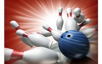 2 hodiny bowlingu! Užijte si s partou kamarádů 2 hodiny bowlingu, a to za pouhých 99 Kč!