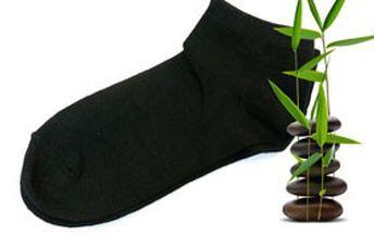 PÁR hedvábně měkkých ponožek LOLA – vyrobené ze 100% bambusového vlákna! Hýčkejte svoji pokožku a dopřejte jí nejvyšší stupeň péče