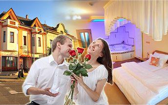 3 - denní romantický pobyt pro dvě osoby s polopenzí v hotelu Krajka****