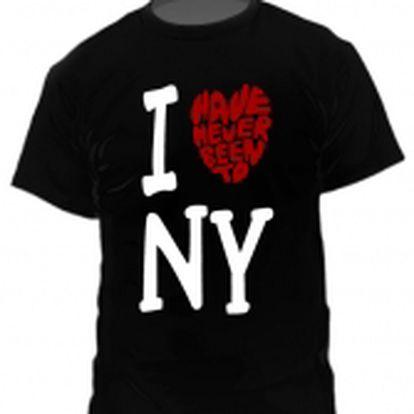 """Tričko I """"love"""" NY"""