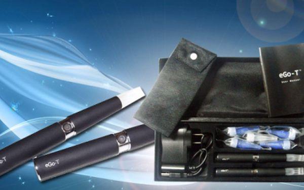 Oblíbená cigareta EGO-T za NEJNIŽŠÍ cenu na trhu! 2x elektronická cigareta za super cenu 419 Kč! Dejte sbohem nepříjemnému zápachu z kouření a ušetřete s námi 75%!