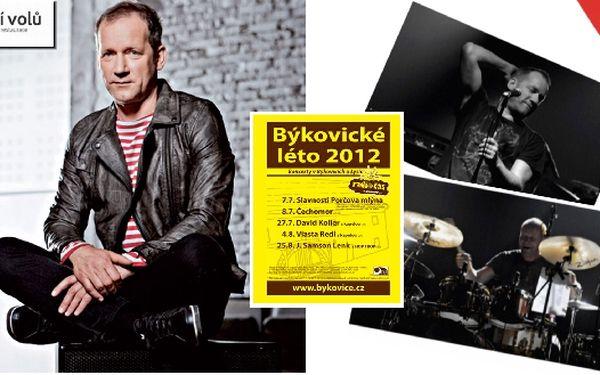 David Koller s kapelou v Býkovicích u Lysic, líste...