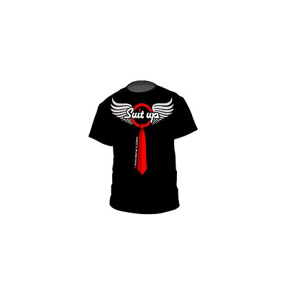 Tričko Suit Up wings
