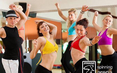 2 vstupy na jakékoliv skupinové cvičení