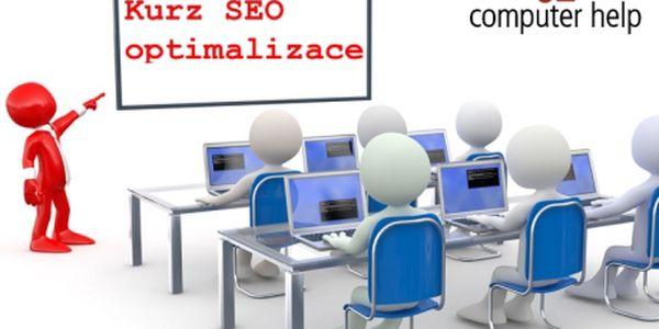 1 999 Kč za kurz SEO - Optimalizace a propagace webu - SEO/SEM! Kurz pro obchodníky, pracovníky marketingu a provozovatele vlastních webů, kteří se chtějí nejen orientovat v terminologii a klíčových aspektech oboru, ale hlavně prakticky využívat nejnovější nástroje pro optimalizaci (SEO) a efektivní propagaci webů (SEM) ve vyhledávačích či sociálních sítích.