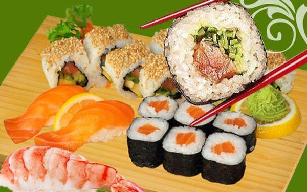 Pojďte na SUSHI nebo čínské jídlo se slevou 50%!
