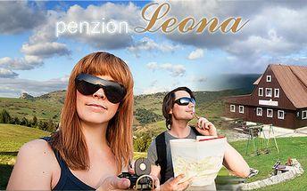 3 - denní pobyt pro dva s polopenzí v horském penzionu Leona!