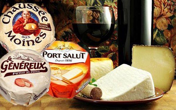 319 Kč za TŘI francouzské polotvrdé sýry z pasterovaného kravského mléka s pevnou kůrkou, uvnitř vláčné a lahodné - pro opravdové gurmány!