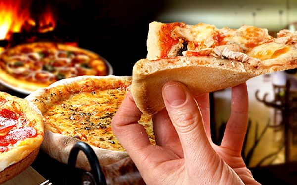 Dvě italské pizzy o průměru 30 cm dle výběru