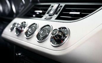 Čištění auta a doplnění klimatizace Kompletní čistění a klimatizace včetně doplnění chladicího media!