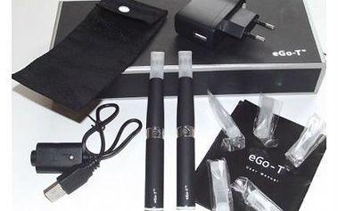 Elektronická cigareta Ego-T! Nezapáchá a neničí zdraví, přitom máte realistický požitek z kouření.